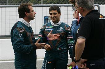 Salvatore Tavano (Sc. del Girasole   Cupra Racing,Cupra TCR SEQ #4)Eric Scalvini (Sc. del Girasole   Cupra Racing,Cupra TCR DSG #19), TCR ITALY TOURING CAR CHAMPIONSHIP