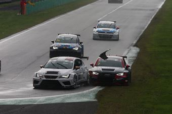 Salvatore Tavano (Sc. del Girasole   Cupra Racing,Cupra TCR SEQ #4)Sandro Pelatti (Girasole,Audi RS3 LMS TCR DSG #7), TCR ITALY TOURING CAR CHAMPIONSHIP