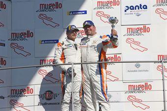 Gara 1 Christian Voithofer (Team Wimmer Werk MS,Cupra Leon TCR 2018 #99) Peter Gross (Team Wimmer Werk MS,Cupra Leon TCR 2018 #55), TCR ITALY TOURING CAR CHAMPIONSHIP