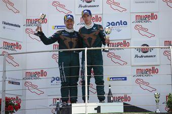 Matteo Greco (Sc. del Girasole   Cupra Racing,Cupra TCR SEQ #34) Eric Scalvini (Sc. del Girasole   Cupra Racing,Cupra TCR DSG #19), TCR ITALY TOURING CAR CHAMPIONSHIP