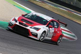 Gunter Benninger (Team Wimmer Werk MS,Cupra Leon TCR 2018 #56), TCR ITALY TOURING CAR CHAMPIONSHIP