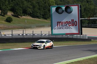 Jonathan Giacon (MM Motorsport,Honda Civic FK2 TCR #10), TCR ITALY TOURING CAR CHAMPIONSHIP