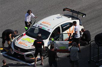 Kevin Giacon (MM Motorsport,Honda Civic FK2 TCR #10), TCR ITALY TOURING CAR CHAMPIONSHIP