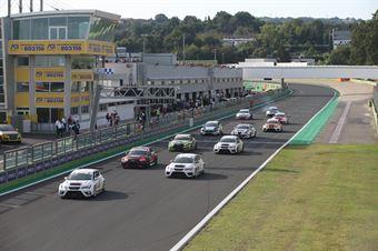 Partenza gara 2, TCR ITALY TOURING CAR CHAMPIONSHIP
