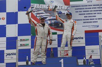 Gara Peter Gross (Team Wimmer Werk MS,Cupra Leon TCR 2018 #55)Gunter Benninger (Team Wimmer Werk MS,Cupra Leon TCR 2018 #56), TCR ITALY TOURING CAR CHAMPIONSHIP