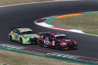 Jacopo Guidetti (BF Motorsport,Audi RS3 LMS SEQ TCR DSG#71) Enrico Bettera (Pit Lane Competizioni,Audi RS3 LMS SEQ #69), TCR ITALY TOURING CAR CHAMPIONSHIP