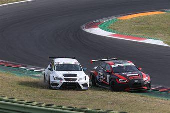 Jacopo Guidetti (BF Motorsport,Audi RS3 LMS SEQ TCR DSG#71)Matteo Greco (Sc. del Girasole   Cupra Racing,Cupra TCR SEQ #34), TCR ITALY TOURING CAR CHAMPIONSHIP
