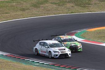 Eric Scalvini (Sc. del Girasole   Cupra Racing,Cupra TCR DSG #19)Enrico Bettera (Pit Lane Competizioni,Audi RS3 LMS SEQ #69), TCR ITALY TOURING CAR CHAMPIONSHIP