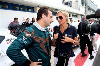 Salvatore Tavano (Sc. del Girasole   Cupra Racing,Cupra TCR SEQ #4), TCR ITALY TOURING CAR CHAMPIONSHIP