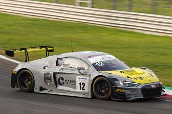 Drudi Mattia Agostini Riccardo Mancinelli Daniel, Audi R8 #12, Audi Sport Italia, ITALIAN GRAN TURISMO CHAMPIONSHIP