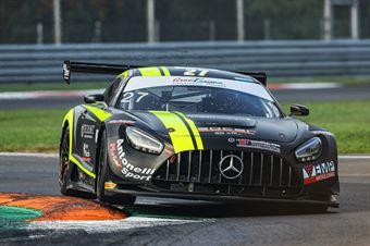 Linossi Francesca Zampieri Daniel Lorandi Alessio, Mercedes AMG GT3 #27, AKM Motorsport, ITALIAN GRAN TURISMO CHAMPIONSHIP