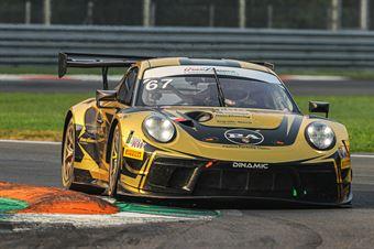 Pampanini Romberto Calamia Mauro, Porsche 911 GT3 R #67, Dinamic Motorsport Srl, ITALIAN GRAN TURISMO CHAMPIONSHIP