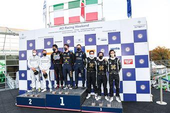 Podio GT4 PRO AM, ITALIAN GRAN TURISMO CHAMPIONSHIP