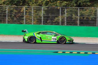 Pulcini Leonardo Giammaria Raffaele Yuki Nemoto, Lamborghini Huracan GT3 Evo #19, Vincenzo Sospiri Racing, ITALIAN GRAN TURISMO CHAMPIONSHIP