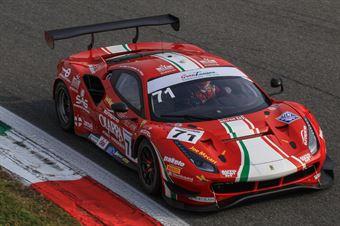 Roda Giorgio Rovera Alessio Fuoco Antonio, Ferrari 488 GT3 #71, AF Corse, ITALIAN GRAN TURISMO CHAMPIONSHIP