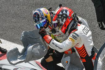 Agostini Riccardo Mancinelli Daniel Drudi Mattia, Audi R8 #12, Audi Sport Italia, CAMPIONATO ITALIANO GRAN TURISMO