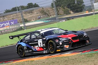 Comandini Stefano Zug Marius Sims Alexander George, BMW M6 GT3 #7, BMW Team Italia, CAMPIONATO ITALIANO GRAN TURISMO