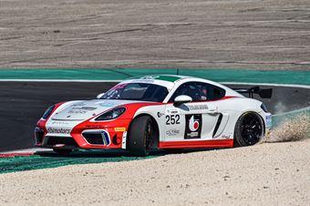 De Amicis Alberto Di Giusto Mattia Marchi Andrea, Porsche 718 Cayman Gt4 #252, Ebimotors , CAMPIONATO ITALIANO GRAN TURISMO