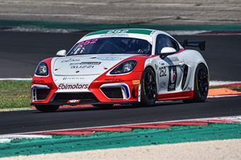 De Amicis Alberto Di Giusto Mattia Marchi Andrea, Porsche 718 Cayman Gt4 #252, Ebimotors, CAMPIONATO ITALIANO GRAN TURISMO