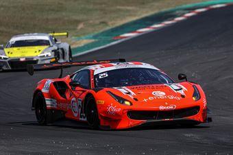 Di Amato Daniele Vezzoni Alessandro, Ferrari 488 GT3 #25, RS Racing, CAMPIONATO ITALIANO GRAN TURISMO