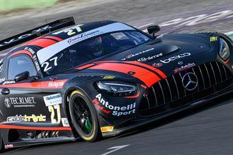 Ferrari Lorenzo Linossi Francesca, Mercedes AMG GT3 #27, AKM Motorsport, CAMPIONATO ITALIANO GRAN TURISMO