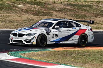 Guerra Francesco Riccitelli Simone Neri Nicola, BMW M4 GT4 #215, BMW Team Italia, CAMPIONATO ITALIANO GRAN TURISMO