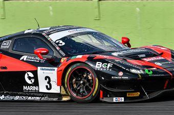 Hudspeth Sean Michelotto Mattia Greco Matteo, Ferrari 488 GT3 #3, Easy Race, CAMPIONATO ITALIANO GRAN TURISMO