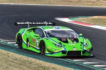 Kroes Danny Schandorff Frederik Tujula Tuomas, Lamborghini Huracan GT3 Evo #63, Vincenzo Sospiri Racing, CAMPIONATO ITALIANO GRAN TURISMO