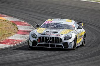 Minella Mario Formenti Claudio Manassero Filippo, Mercedes AMG GT4 #207, Nova Race Events, CAMPIONATO ITALIANO GRAN TURISMO