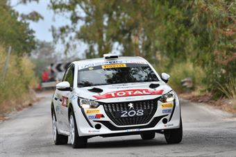 Andreucci Paolo Andreussi Anna, Peugeot 208 R2C #20, FPF Sport, CAMPIONATO ITALIANO RALLY