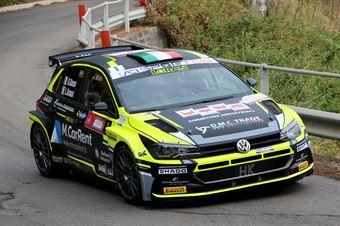 Basso Giandomenico Granai Lorenzo, Volkswagen Polo R5 #1, Sport&Comunicazione, CAMPIONATO ITALIANO RALLY