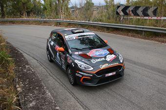 Campanaro Daniele Porcu Irene, Ford Fiesta R2B #30, Gass Racing, CAMPIONATO ITALIANO RALLY