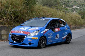Casella Alessandro Siragusano Rosario, Peugeot 208 R2B #27, CST Sport, CAMPIONATO ITALIANO RALLY