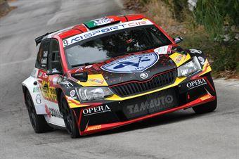 Ciuffi Tommaso Gonella Nicolo, Skoda Fabia R5 #9, Jolly Racing Team, CAMPIONATO ITALIANO RALLY