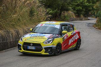 Goldoni Simone Macori Eric, Suzuki Swift Sport Hybrid 1.4 #41, CAMPIONATO ITALIANO RALLY
