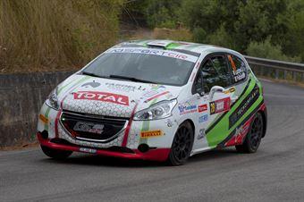 Lucchesi Cristopher Junior Pollicino Marco, Peugeot 208 R2B #28, Project Team, CAMPIONATO ITALIANO RALLY
