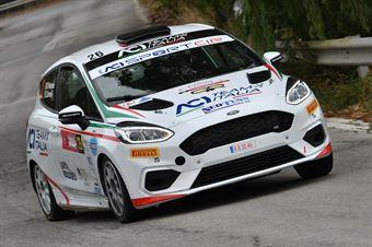 Pederzani Riccardo Brovelli Edoardo, Ford Fiesta R2B #26, MS Munaretto, CAMPIONATO ITALIANO RALLY
