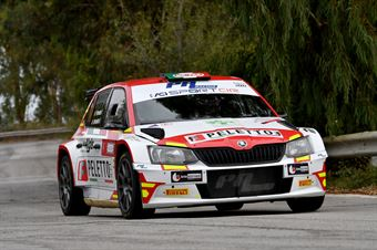 Perosino Patrizia Verzoletto Veronica, Skoda Fabia R5 #11, PA Racing, CAMPIONATO ITALIANO RALLY