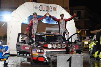 Crugnola Andrea Ometto Pietro Elia; Citroen C3 R5 #2; FPF Sport, CAMPIONATO ITALIANO RALLY