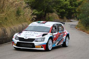 Profeta Alessio Raccuia Sergio, Skoda Fabia R5 #12, Island Motorsport, CAMPIONATO ITALIANO RALLY