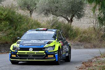 Re Alessandro Menchini Marco, Volkswagen Polo R5 #4, Gass Racing, CAMPIONATO ITALIANO RALLY