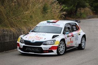 Riolo Salvatore Marin Maurizio, Skoda Fabia R5 #16, CST Sport, CAMPIONATO ITALIANO RALLY