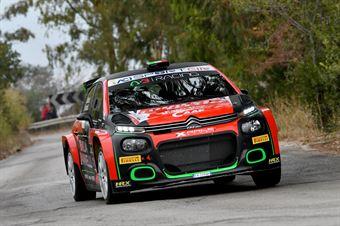 RusceAntonio Farnocchia Sauro, Citroen C3 R5 #5, X Race Sport, CAMPIONATO ITALIANO RALLY