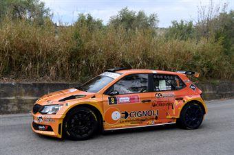 Scattolon Giacomo Bernacchini Giovanni, Skoda Fabia R5 #8, Movisport, CAMPIONATO ITALIANO RALLY