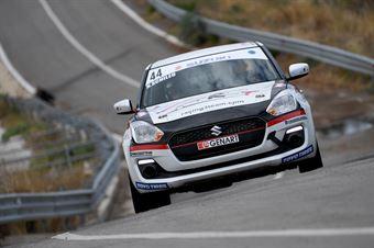 Schileo Nicola Finzi Luciano Renzo, Suzuki Swift R1 #44, CAMPIONATO ITALIANO RALLY