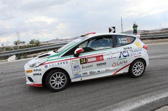 Vita Mattia Bosi Massimiliano, Ford Fiesta R2B #24, CAMPIONATO ITALIANO RALLY