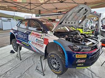 Signor Pezzol,  Volkswagen Polo R5, #3 Sama Racing, CAMPIONATO ITALIANO RALLY