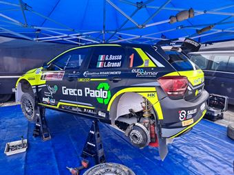 Giandomenico Basso Lorenzo Granai; Volkswagen Polo R5 #1, CAMPIONATO ITALIANO RALLY