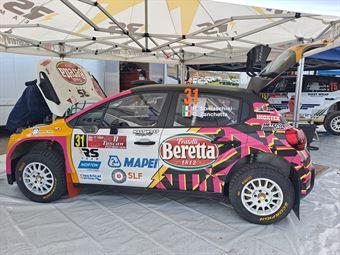Rachele Somaschini Giulia Zanchetta, Citroen C3 R5 #31, CAMPIONATO ITALIANO RALLY