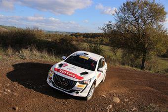 Paolo Andreucci Anna Andreussi; Peugeot 208 R2C #52; FPF Sport, CAMPIONATO ITALIANO RALLY